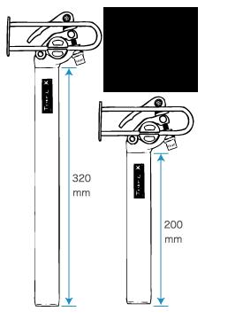 シートピラー(サイズ2種)